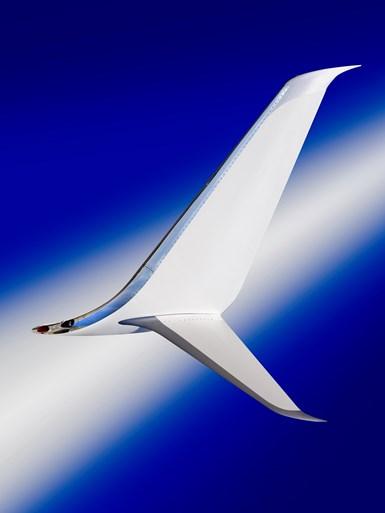 modified Boeing winglet