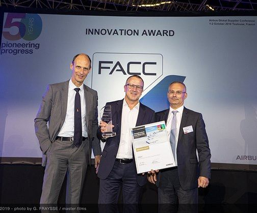 "FACC receives Airbus ""Innovation Award""  image"