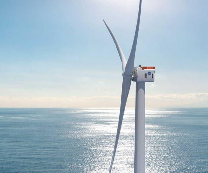 GE Haliade X wind turbine