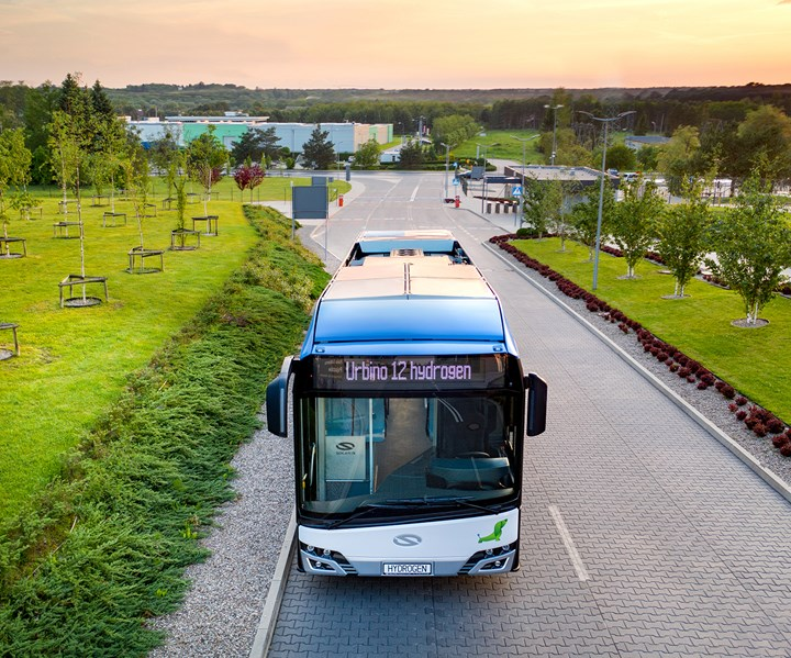 hydrogen fuel cells for bus
