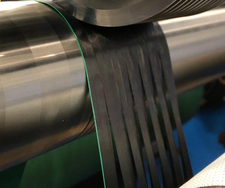 Bindatex tape slitting
