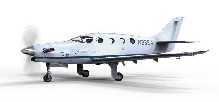Epic carbon fiber aircraft