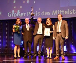 Roth Industries honored at Großer Preis des Mittelstandes