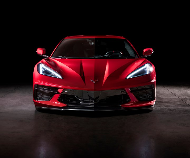 Corvette pultruded bumper bean with Vectorply carbon fiber