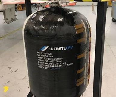 carbon fiber pressure vessel