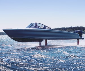 Sicomin's epoxy resins and adhesives enable all-electric foiling boat