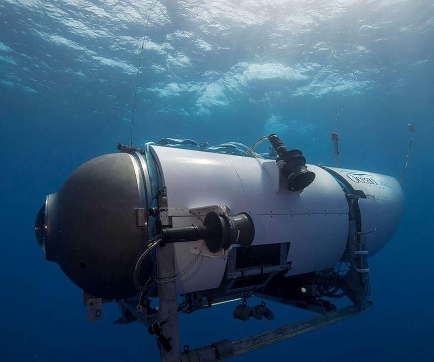 carbon fiber submarine
