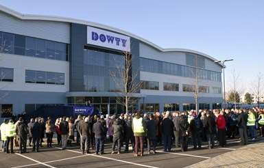Dowty Propellers facility for manufacturing composite propeller blades