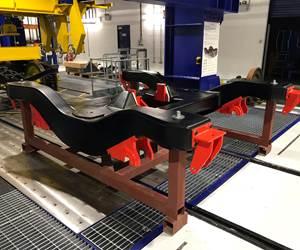 Carbon fiber composite rail bogie unveiled