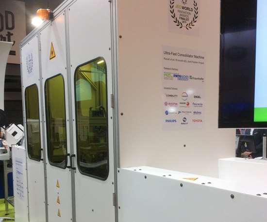 JEC World 2019 AZL Aachen consolidator machine system