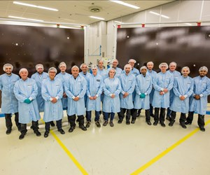 Airborne substrate panels enable JUICE spacecraft solar array