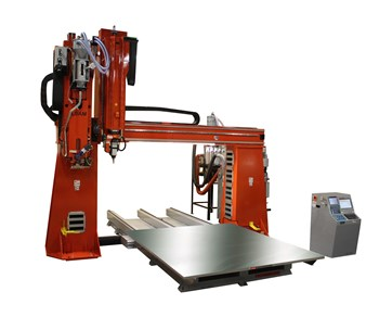 Fixed-gantry options for large-scale additive manufacturing