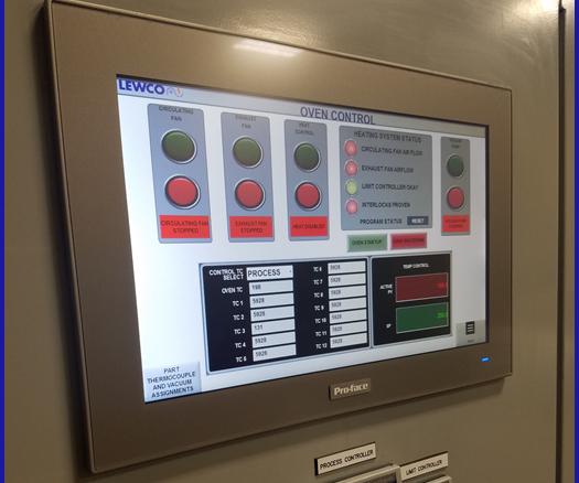 Lewco oven control
