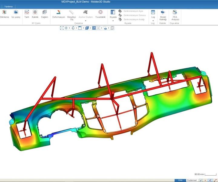 plastics molding simulation software