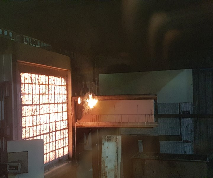 fire performance for composite materials