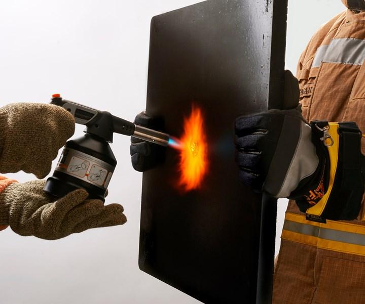 thermoset flame retardant foam