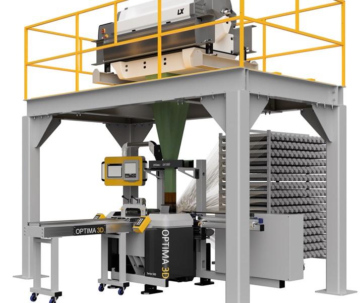 3D composite weaving