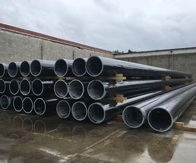 FRP pilings, fiber reinforced polymer, fiber reinforced plastic