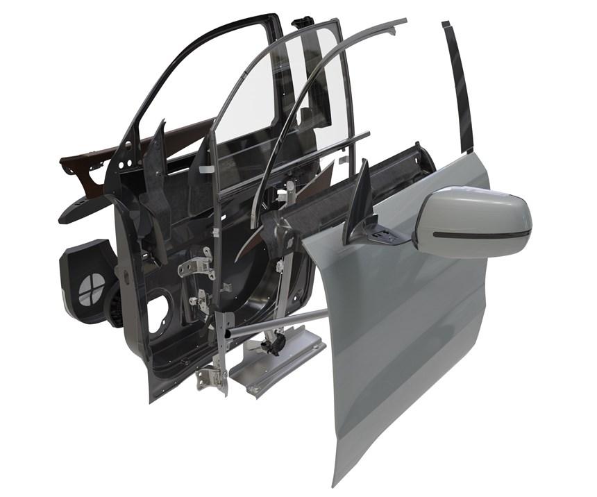 carbon-fiber reinforced automotive