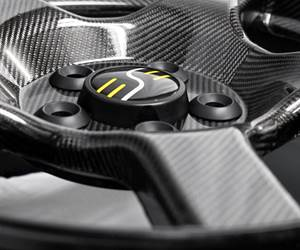 One-piece, one-cure, infused carbon fiber wheel is ready to roll