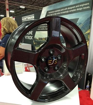 carbon fiber wheels, automotive composites