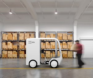 Natural fiber enables e-bike for package delivery