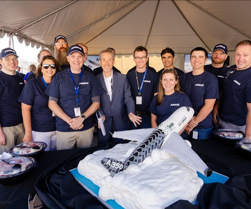Airbus, Hexcel celebrate National Composites Week with milestone production rate