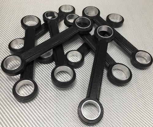 Shape Machining unveils carbon fiber suspension links