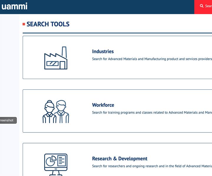 UAMMI database CAMX 2019