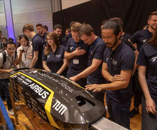 hyperloop,  carbon fiber, prepreg