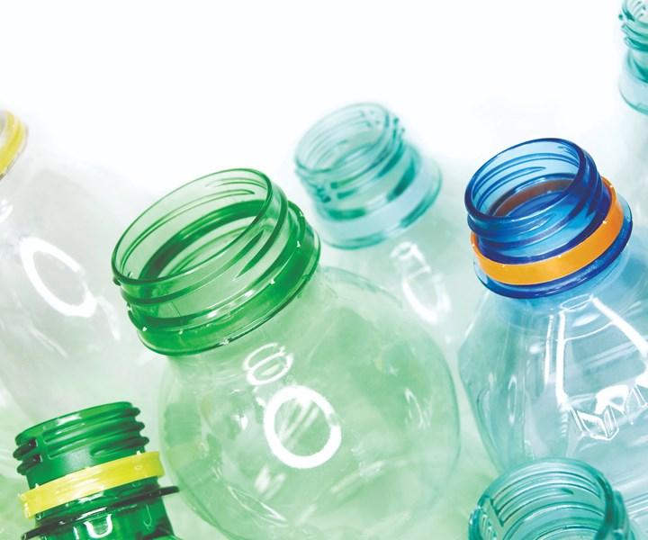 recycled plastic bottles to make Toray fiber