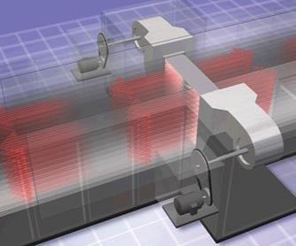 carbon fiber oxidation air flow Despatch patented center-to-end parallel flow design