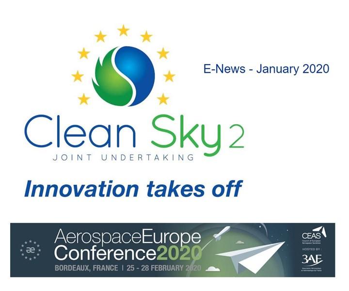 Clean Sky 2 January 2020 e-news