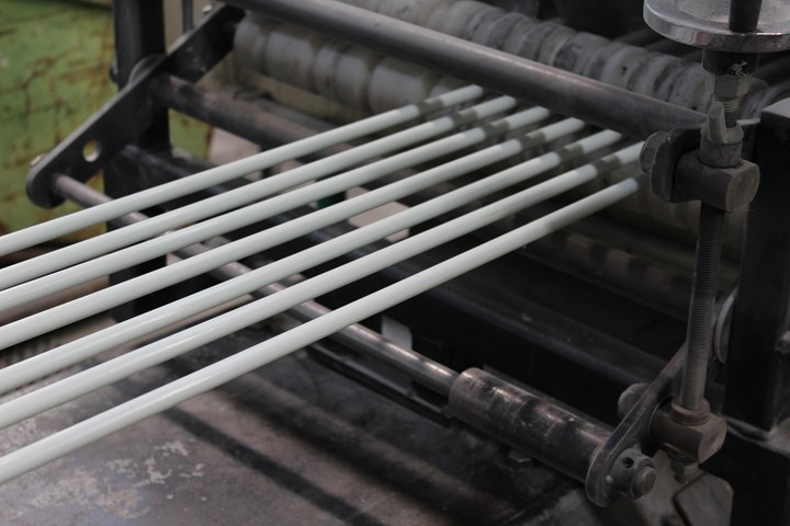 Mateenbar pultrusion process produces high-quality FRP rebar