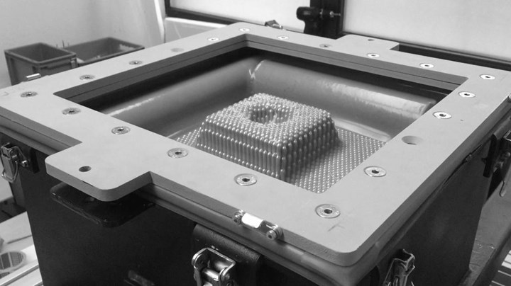CIKONI DYNAPIXEL automated reconfigurable tooling with silicone membrane