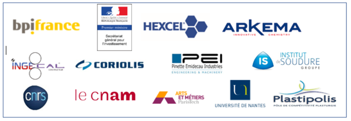 HAICoPAS project consortium Hexcel Arkema Coriolis IS Groupe Pinette Emidecau Ingecal