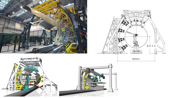 Clean Sky 2 Multifunctional Fuselage Demonstrator automated assembly