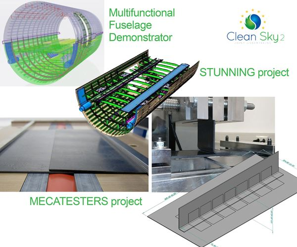 Proving out LM PAEK welding for Multifunctional Fuselage Demonstrator image