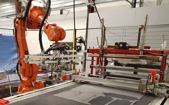 automated composites cutting