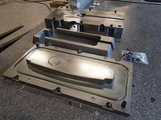 Techni-Modul compression RTM C-RTM tool