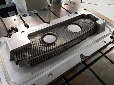 Techni-Modul rib preform compression RTM C-RTM