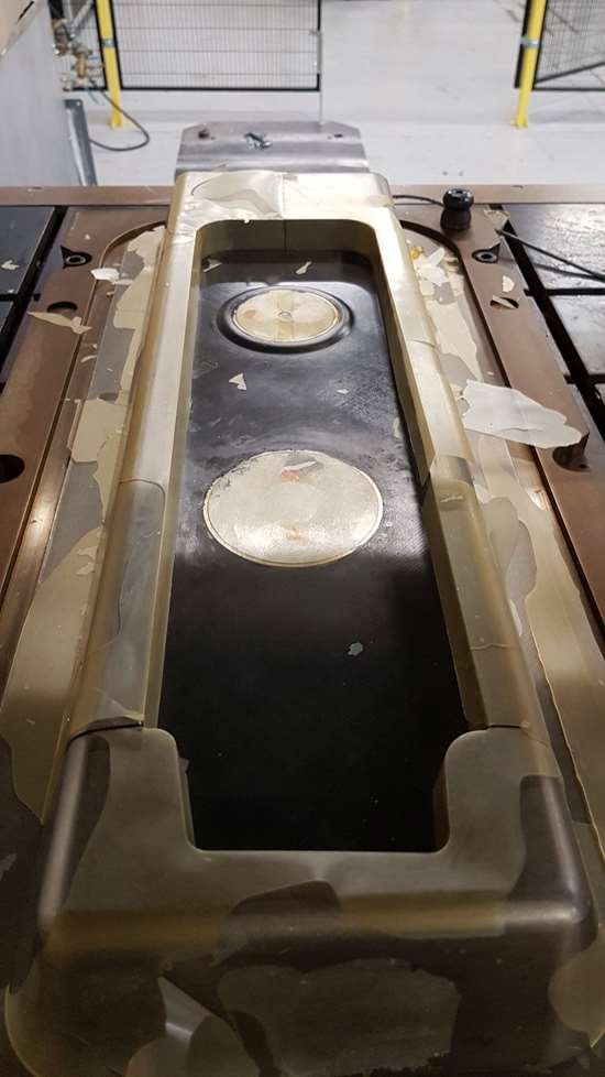 Techni-Modul compression RTM C-RTM rib primary aircraft structure