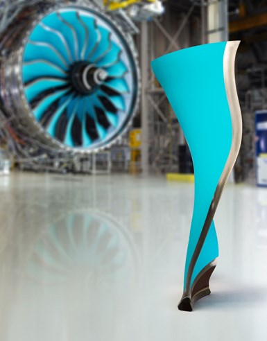Rolls-Royce carbon fiber composite fan blade ALPS demonstrator