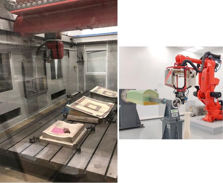 Kanfit Ltd. CNC machining and automated fiber placement