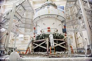 Orion spacecraft successfully completes major testing