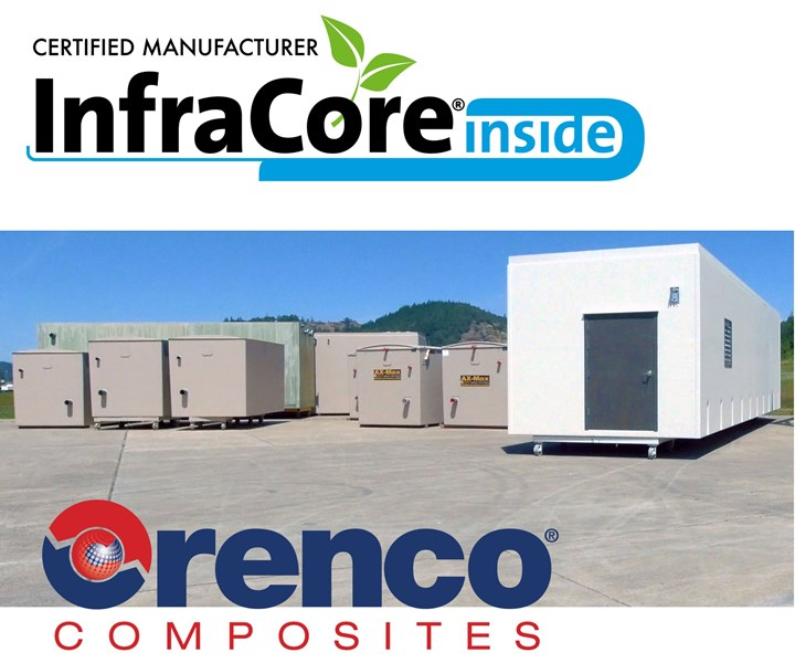InfraCore Inside license Orenco Composites