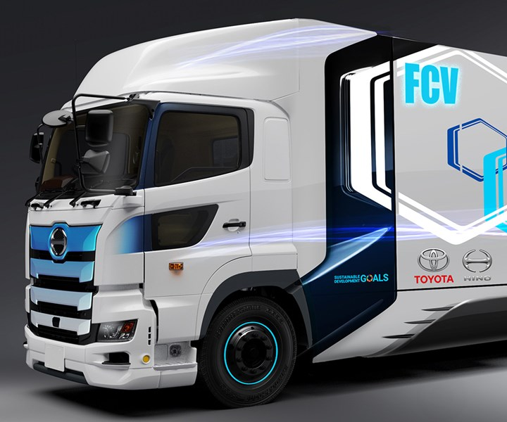 Toyota Hino jointly develop heavy-duty hydrogen fuel cell truck