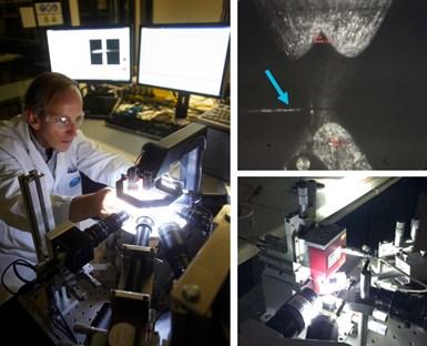 CSIRO team using Australian Synchrotron SAXS-WAXS beamline to measure carbon fiber properties
