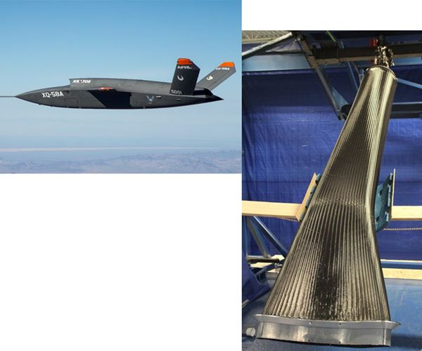 AFRL evaluates braiding, SMP tooling and VARTM for lower-cost future engine inlet ducts image