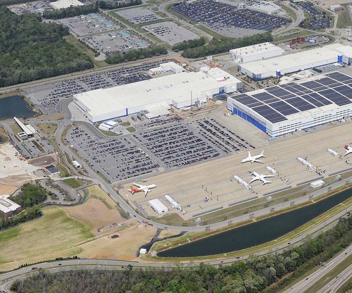 Boeing South Carolina facility